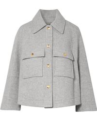 Chloé - Oversized Wool-blend Jacket - Lyst