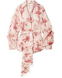 Johanna Ortiz - Rushcutters Bay Printed Cotton-poplin Shirt - Lyst