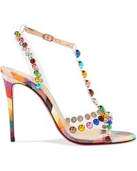 Christian Louboutin - Faridaravie 100 Pvc Sandals - Lyst
