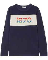 Bella Freud - 1970 Metallic Cashmere Jumper - Lyst
