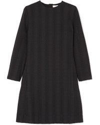 Chloé - Embroidered Cotton Mini Dress - Lyst