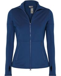 adidas By Stella McCartney - Parley For The Oceans Essentials Climalite Stretch-jersey Jacket - Lyst