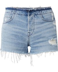 3x1 | W4 Shelter Distressed Denim Shorts | Lyst