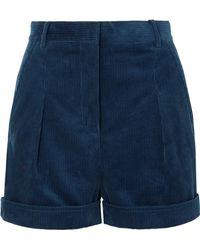 Stella McCartney - Cotton-corduroy Shorts - Lyst