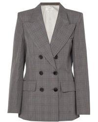 Étoile Isabel Marant Iliane Checked Cotton-blend Blazer