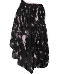 Preen Line - Wild Flower Print Skirt - Lyst