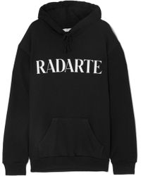 Rodarte - Oversized Printed Cotton-blend Jersey Hoodie - Lyst