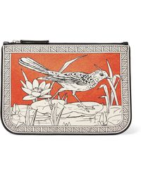 JW Anderson - Printed Leather Pouch - Lyst