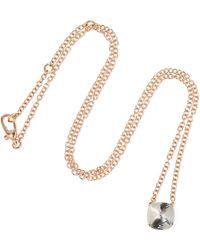 Pomellato - Nudo 18-karat Rose And White Gold Topaz Necklace - Lyst