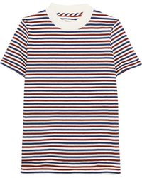 Madewell - Remy Striped Cotton T-shirt - Lyst