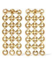 Laura Lombardi - Gold-tone Earrings - Lyst