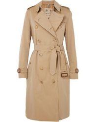 Burberry - The Chelsea Cotton-gabardine Trench Coat - Lyst