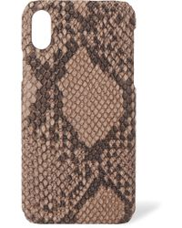 The Case Factory - Snake-effect Leather Iphone 8 Case - Lyst