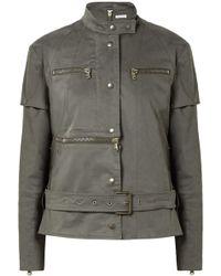 Tomas Maier | Convertible Cotton-blend Jacket | Lyst