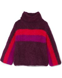 Rosie Assoulin - Striped Alpaca-blend Sweater - Lyst