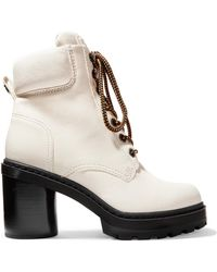 Marc Jacobs - Crosby Textured-leather Ankle Boots - Lyst