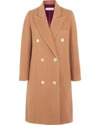 Golden Goose Deluxe Brand - Nina Double-breasted Textured-wool Coat - Lyst