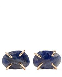 Melissa Joy Manning | 14-karat Gold Sapphire Earrings | Lyst