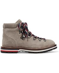 Moncler | Blanche Suede Ankle Boots | Lyst