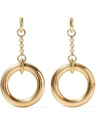 Laura Lombardi - Gilia Gold-tone Earrings - Lyst