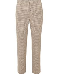 Vanessa Bruno - Moustique Cotton-tweed Straight-leg Trousers - Lyst