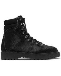 Diemme - Monfumo Calf Hair Ankle Boots - Lyst