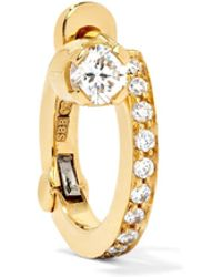 Sophie Bille Brahe - Petite Emelie 18-karat Gold Diamond Earring - Lyst
