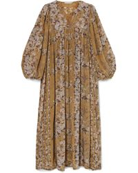 Mes Demoiselles - Jalon Floral-print Crepe Midi Dress - Lyst