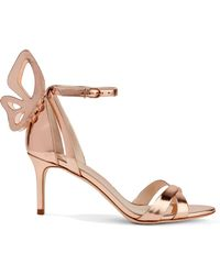 Sophia Webster - Madame Chiara Metallic Leather Sandals - Lyst