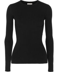 Balenciaga - Ribbed-knit Sweater - Lyst