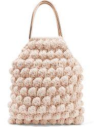Ulla Johnson - Barranco Crocheted Cotton Tote - Lyst