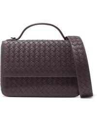 Bottega Veneta - Alumna Intrecciato Leather Shoulder Bag - Lyst