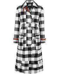 Altuzarra - Agrippina Checked Wool-blend Coat - Lyst