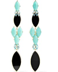 Ippolita - Polished Rock Candy 18-karat Gold Multi-stone Earrings - Lyst