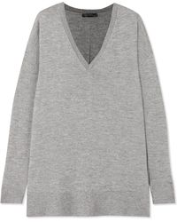 The Row - Amherst Oversized Cashmere And Silk-blend Jumper - Lyst
