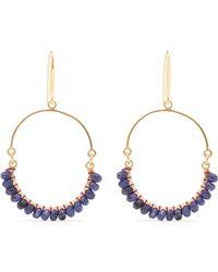 Isabel Marant - Gold-tone Bead Earrings - Lyst