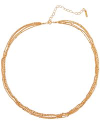 Chan Luu - Gold-plated Faux Pearl Necklace - Lyst