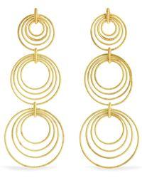 Buccellati - Hawaii Waikiki 18-karat Gold Earrings - Lyst