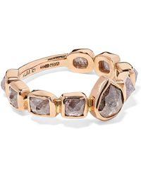 Melissa Joy Manning - 18-karat Rose Gold Diamond Ring - Lyst
