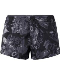 Nike - Elevate Printed Dri-fit Shell Shorts - Lyst