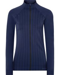 Falke - Act 1 Paneled Striped Stretch-knit Jacket - Lyst