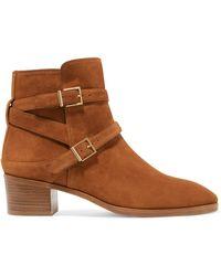 Stuart Weitzman - Sadie Suede Ankle Boots - Lyst
