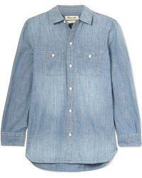 Madewell - Ex-boyfriend Cotton-chambray Shirt - Lyst