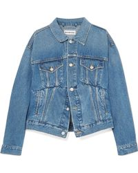 Balenciaga - Oversized Denim Jacket - Lyst