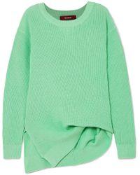 Sies Marjan - Fern Pickup Asymmetric Cotton Sweater - Lyst