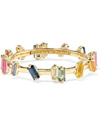Suzanne Kalan - 18-karat Gold Sapphire Ring - Lyst