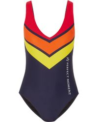 Perfect Moment - Printed Swimsuit - Lyst