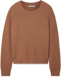 Vince - Ribbed Wool And Cashmere-blend Jumper - Lyst