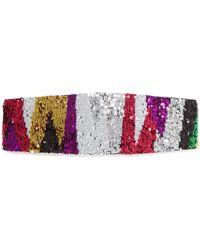Missoni - Sequined Crochet-knit Headband - Lyst