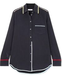 Equipment - Reese Washed-silk Shirt - Lyst
